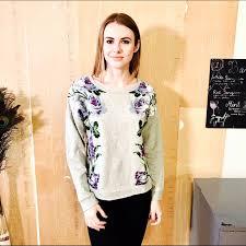 91 off isaac mizrahi sweaters isaac mizrahi live floral print
