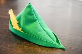 como hacer un sombrero de robin hood en fieltro items similar to green felt peter pan or robin hood hat on etsy