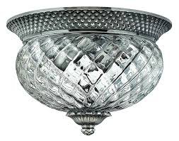 Flushmount Lighting Hinkley 4102pl Traditional Two Light Flush Mount From Plantation