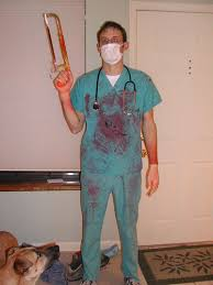 Surgeon Halloween Costume Scott U0027s Bloody Surgeon Costume Hall U2026 Flickr
