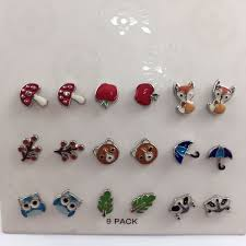 store stud earrings aliexpress buy 9 pairs fashion stud earrings sets women