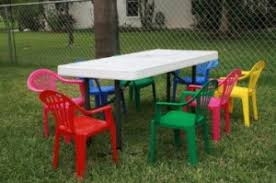 children party tables chairs kid party tent rentals miami a