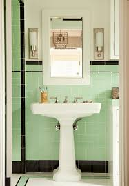 what is the best wallpaper to go with these green tiles and what