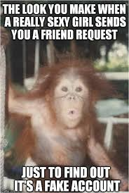 Sexy Monkey Meme - its ok to be single home facebook