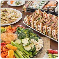 wegmans winter catering home wedding day munches lunch mimosas