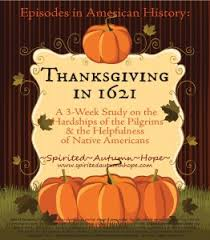 thanksgiving in 1621 review part 1 homeschool