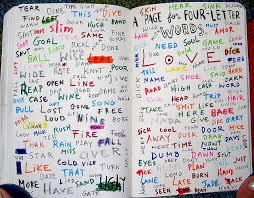17 best 4 letter words images on pinterest journal ideas wreck