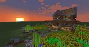 Farmhouse by How To Build A Minecraft Farmhouse Minecraft Tutorial Youtube