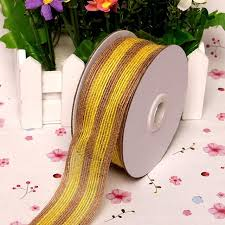 colored burlap ribbon 5m color burlap ribbon fishing line pattern for christmas wedding