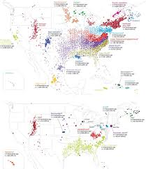Show Me The Map Of United States by Com Analyses User Dna Samples To Build Migration Maps Of North America