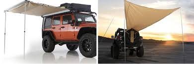 Vehicle Tents Awnings Jeep Tent Options Campers U0026 Awnings Morris 4x4 Center Blog