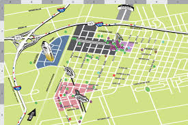 Las Vegas Maps Adventurist Guide To Downtown Las Vegas