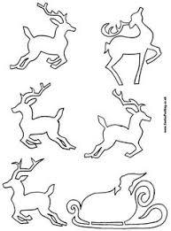 flying reindeer pattern animal patterns patterns