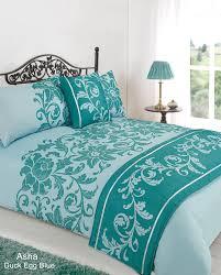 Duck Egg Blue Duvet Sets Bed U0026 Bath Bed Linen Bed In A Bag Asha Duck Egg Duvet