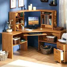 Corner Home Office Furniture Captivating Awe Inspiring Computer Desk Wood 7 Desks Corner Home