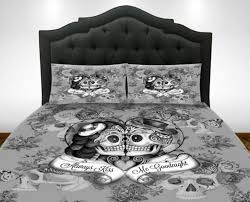 skull comforter bed sets the space available for queen size