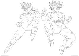 baby vegeta coloring pages youtuf com