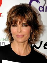 what is the texture of rinnas hair lisa rinna haircuts