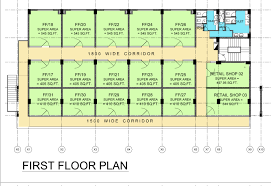 Shop Floor Plan Paras Tierea Commercial Shop