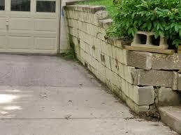Block Basement Wall Repair by Failing Retaining Wall Repair In Bangor Portland Rochester