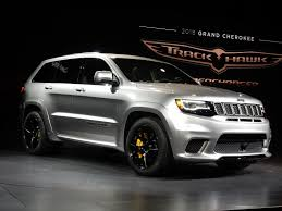 jeep station wagon 2018 2018 grey jeep grand cherokee trackhawk everything cars