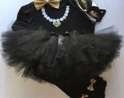 Kitten Halloween Costume Cat Costume Kitten Halloween Costume Black White