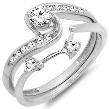 bridal engagement rings images 0 50 carat ctw 10k white gold round diamond ladies swirl bridal jpg