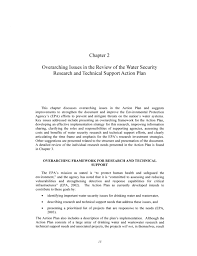 2 overview issues in the review of the water security research and