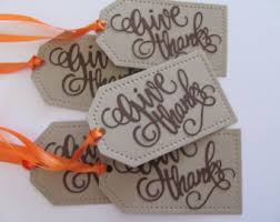 thanksgiving tags thanksgiving favor tags gift tags autumn