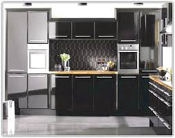 High Gloss Black Kitchen Cabinets High Cabinets Kitchen