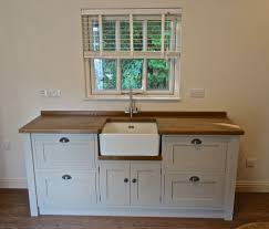details about painted free standing kitchen belfast sink unit
