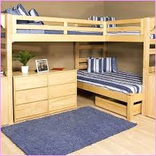 Wood Loft Bed With Desk Plans by Dresser Bunk Bed Desk Dresser Combo Powell Rustica All In One