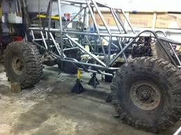 jeep rock crawler buggy hellraiser 3 seater chassis plans