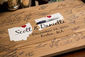 alternatives to wedding guest book beautiful wooden guest book wedding contemporary styles ideas