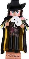 Phantom Opera Halloween Costumes Nutcracker Phantom Opera 40 Cm 16in Steinbach Volkskunst