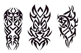 clipart tribal print pencil and in color clipart