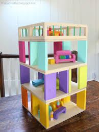How To Make A Dollhouse Out Of A Bookcase Ana White How To Modular Stackable Dollhouse Diy Projects