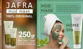 Serum Wajah Jafra jafra mud mask dapatkan wajah putih dan bersinar alami