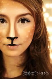 Bambi Halloween Makeup by Best 25 Reindeer Makeup Ideas On Pinterest Bambi Costume Deer