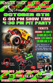 monster truck kids show october 8 2016 u2013 monster trucks u2013 live a little productions