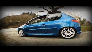 peugeot gti 206 peugeot 206 gti aitor martinez youtube