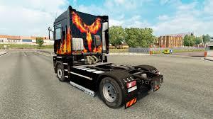 renault phoenix phoenix на тягач renault magnum для euro truck simulator 2
