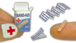B And Q Bathroom Accessories by Miniature Doll Band Aid Or Adhesive Bandages Strips And Box