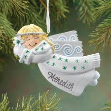 personalized birthstone angel ornament christmas miles kimball