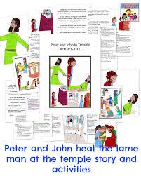 Jesus Heals The Blind Man Preschool Craft 34 Best Peter U0026 John Lame Man Healed Images On Pinterest Sunday