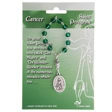 st peregrine decade rosary for cancer the catholic company