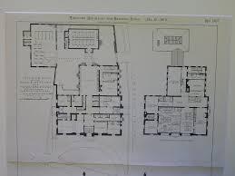 Police Station Floor Plan Police Station And Municipal Court B U0027 D U0027c Brookline Ma 1901