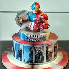 captain america civil war cake cake by simonelopezartist