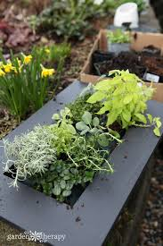herbs planter this vertical herb planter will spice up your kitchen garden therapy
