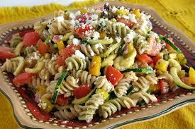 cold veggie pasta salad recipes easy